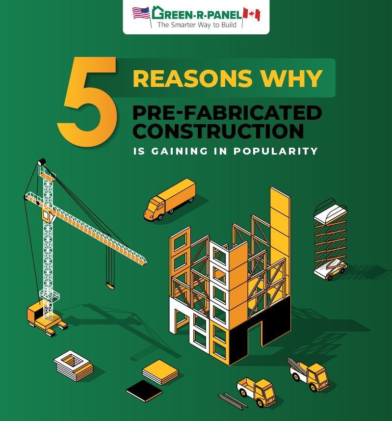 5 Reasons Why Prefabricated Construction Is Gaining in Popularity