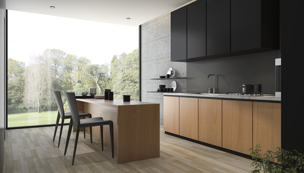 Kitchen Remodeling with Matte Black – Infographic