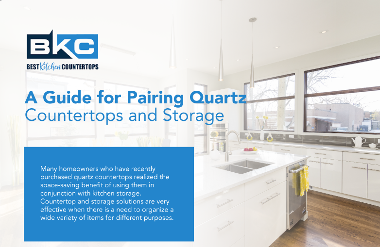 A Guide for Pairing Quartz Countertops and Storage (Infographic)